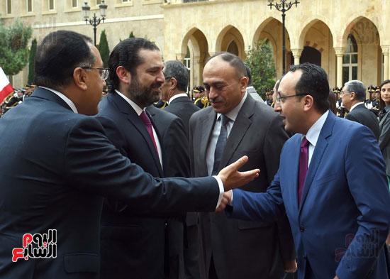 زيارة مصطفى مدبولى للبنان (14)