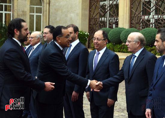 زيارة مصطفى مدبولى للبنان (6)
