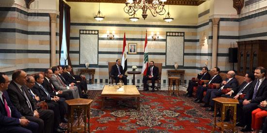 زيارة مصطفى مدبولى للبنان (21)