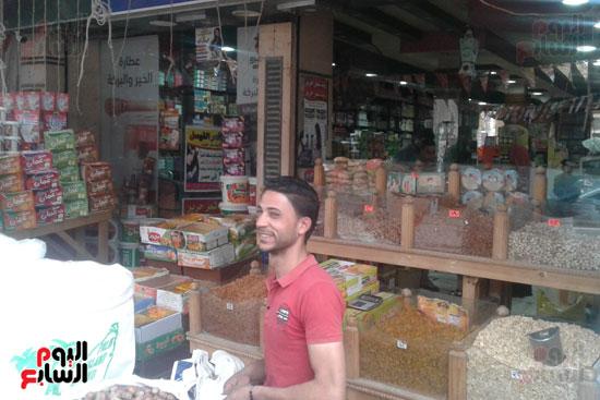 انخفاض أسعار ياميش رمضان 25  عن العام (11)