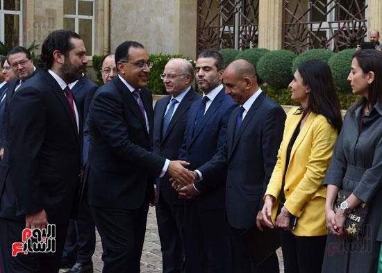 زيارة مصطفى مدبولى للبنان (7)