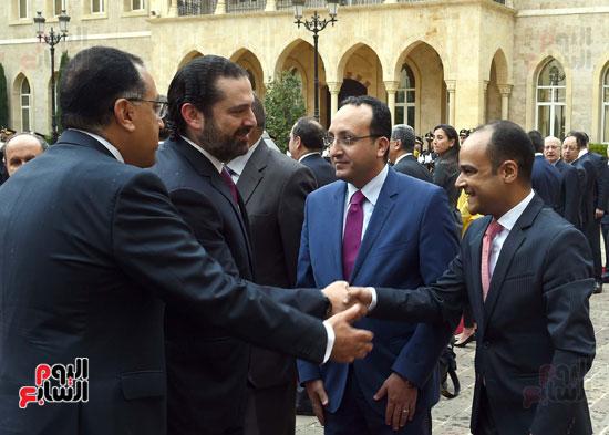 زيارة مصطفى مدبولى للبنان (16)