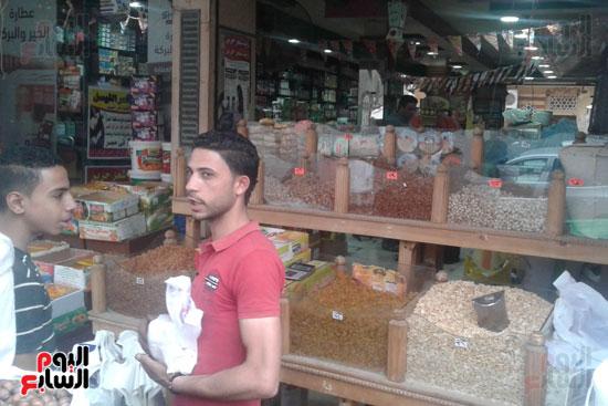انخفاض أسعار ياميش رمضان 25  عن العام (15)