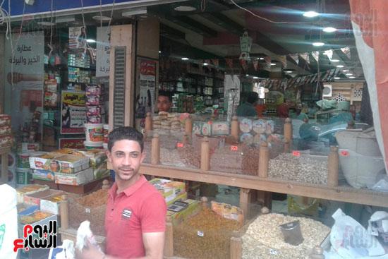 انخفاض أسعار ياميش رمضان 25  عن العام (12)