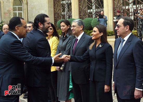 زيارة مصطفى مدبولى للبنان (11)