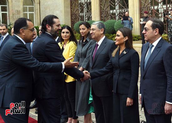 زيارة مصطفى مدبولى للبنان (10)