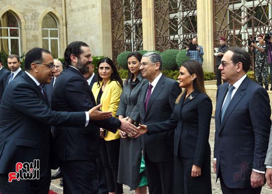زيارة مصطفى مدبولى للبنان (9)