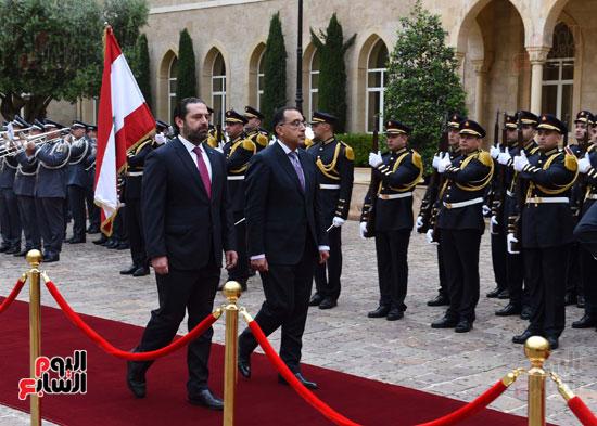 زيارة مصطفى مدبولى للبنان (3)