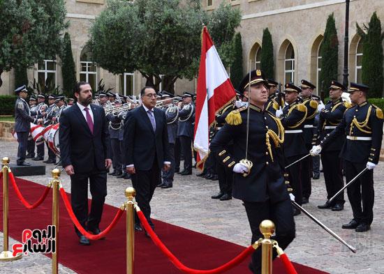 زيارة مصطفى مدبولى للبنان (2)