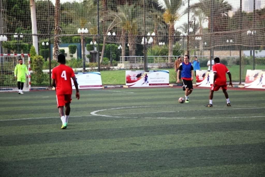 مباريات محاكاة امم افريقيا