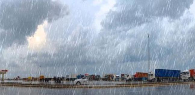 غيوم وأمطار جراء الطقس السيئ (2)