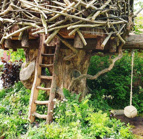 أرجوحة-وبيت-الشجرة-فى-معرض-تشيلسى-للزهور-فى-لندن