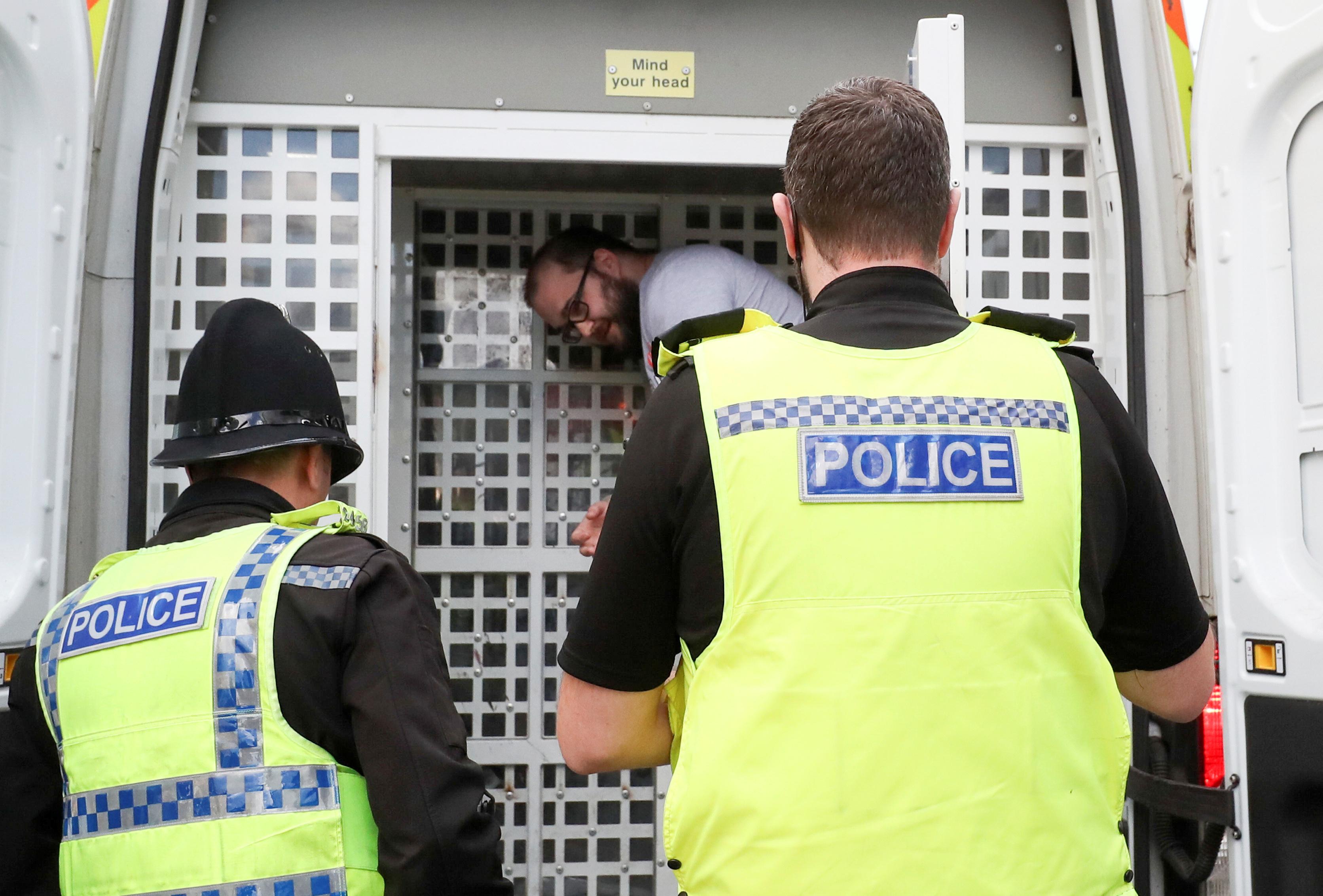 قوات الأمن البريطانية