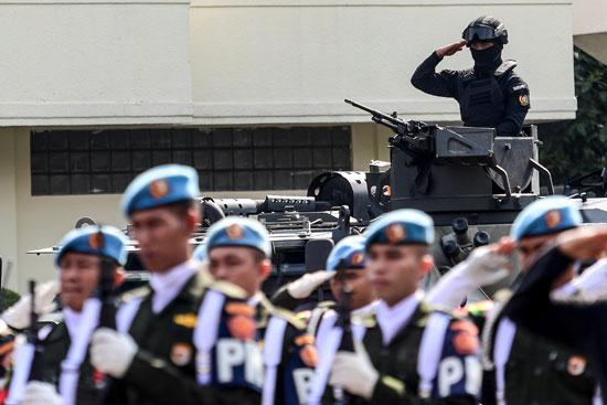 تعزيز الإجراءات الأمنية فى اندونيسيا (1)