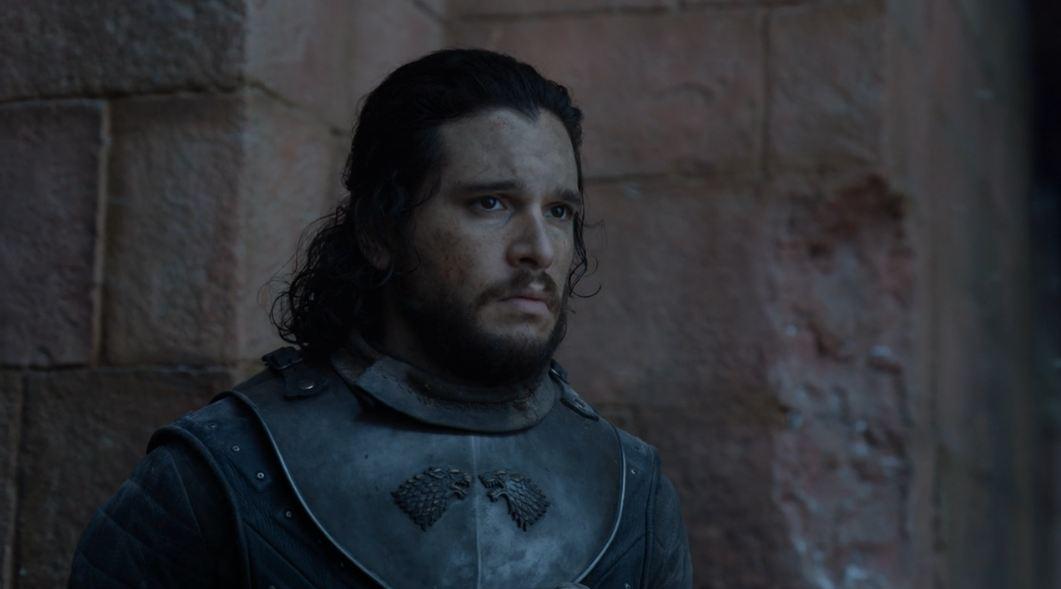 jon snow يتابع خطاب Daenerys Targaryen بلغة Dothraki (1)