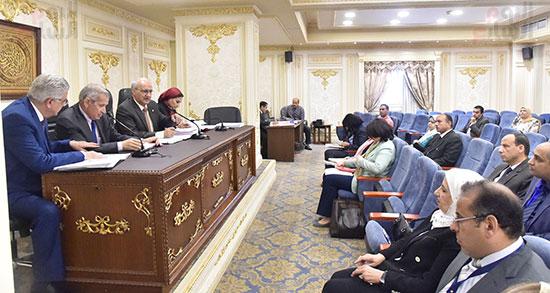اجتماع لجنة التعليم والبحث العلمي بمجلس النواب (2)