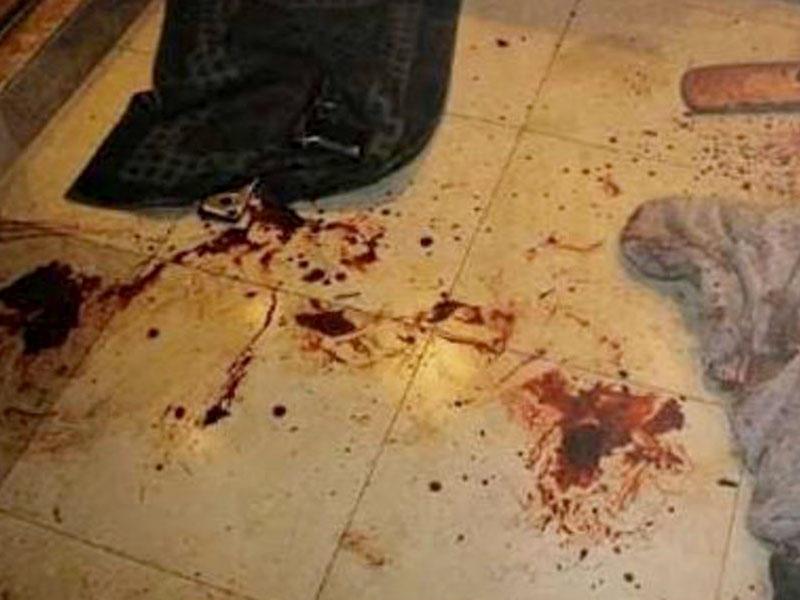 دماء الجريمة