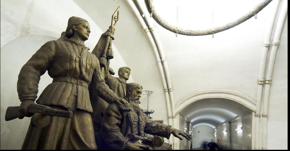 تماثيل مترو موسكو
