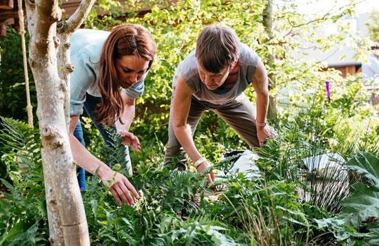 كيت-ميدلتون-تشارك-فى-تصميم-الحديقة