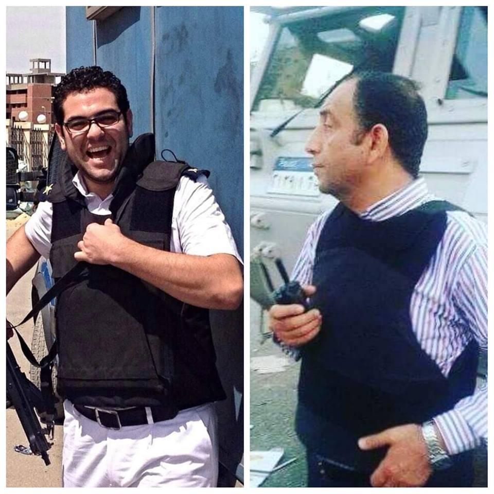 الشهيد ماجد عبد الرازق وحماه الشهيد وائل طاحون