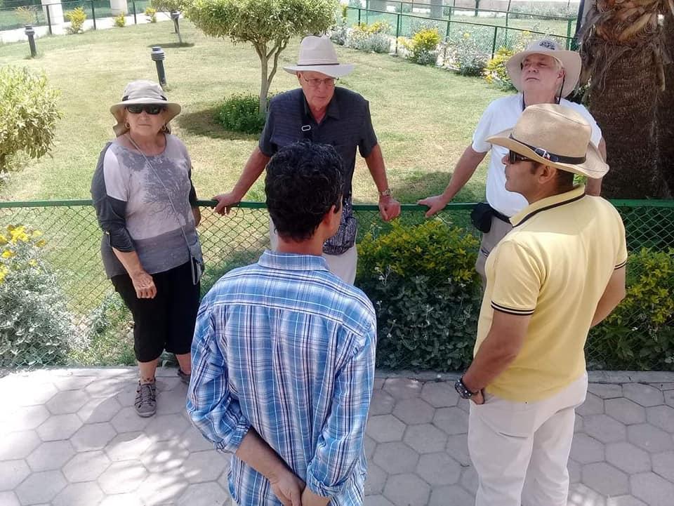 متحف رشيد يستقبل وفود أجنبية (5)