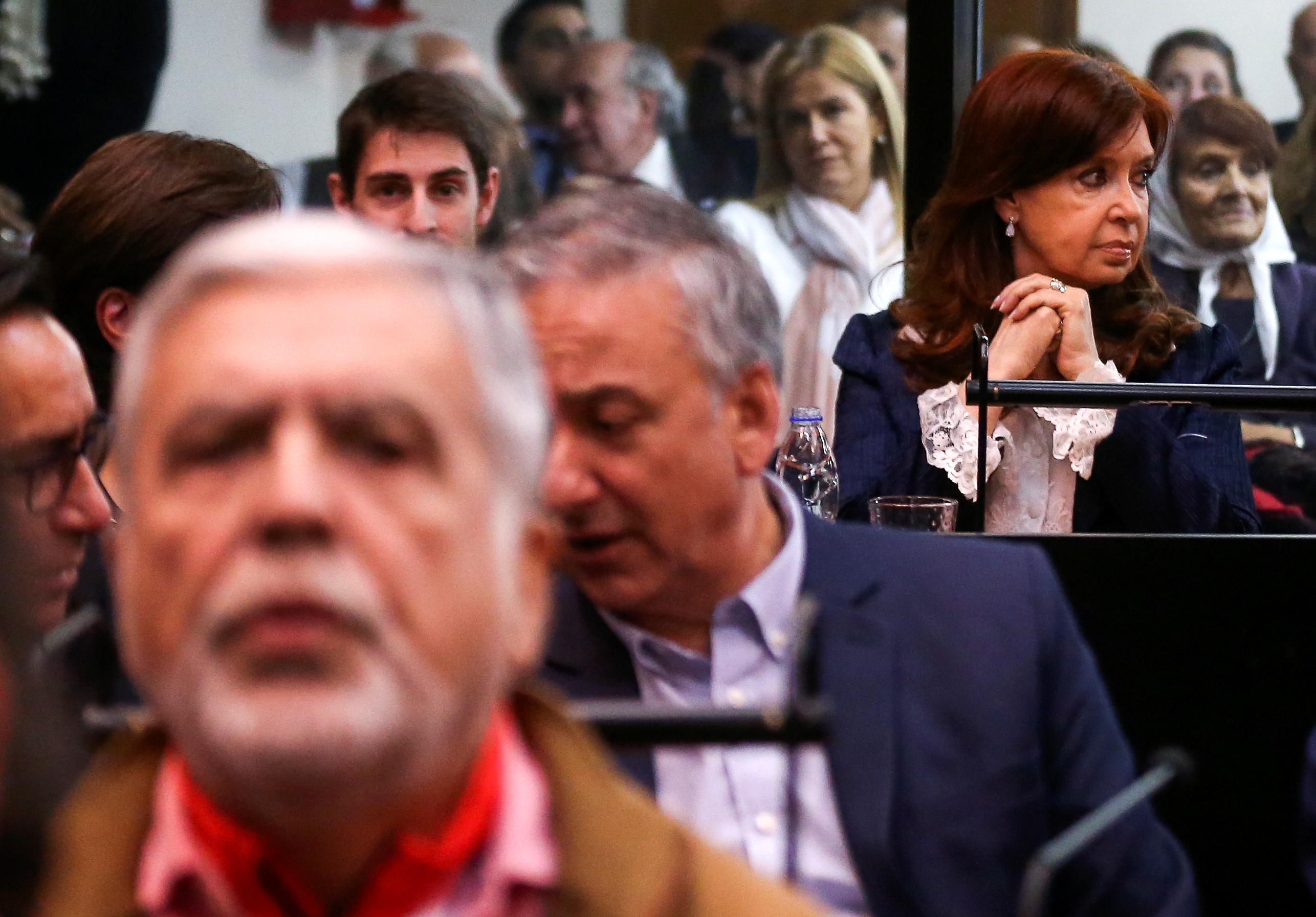 الرئيسة الأرجنتينية السابقة