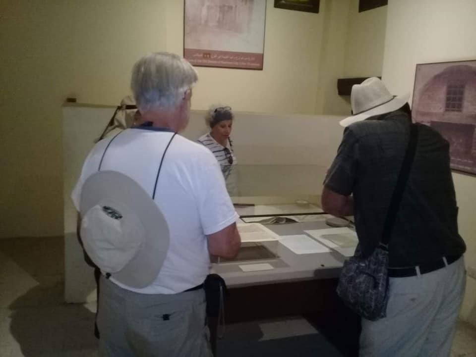 متحف رشيد يستقبل وفود أجنبية (16)