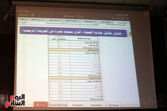 الدكتور محمد شاكر وزير الكهرباء والطاقة المتجددة  (11)