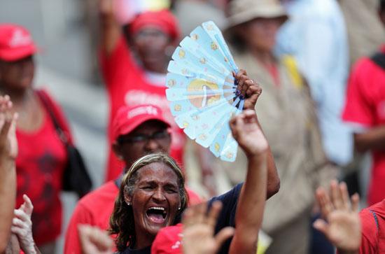 احتفالات بالذكرى السنوية الأولى لإعادة انتخاب مادورو رئيسا لفنزويلا (5)