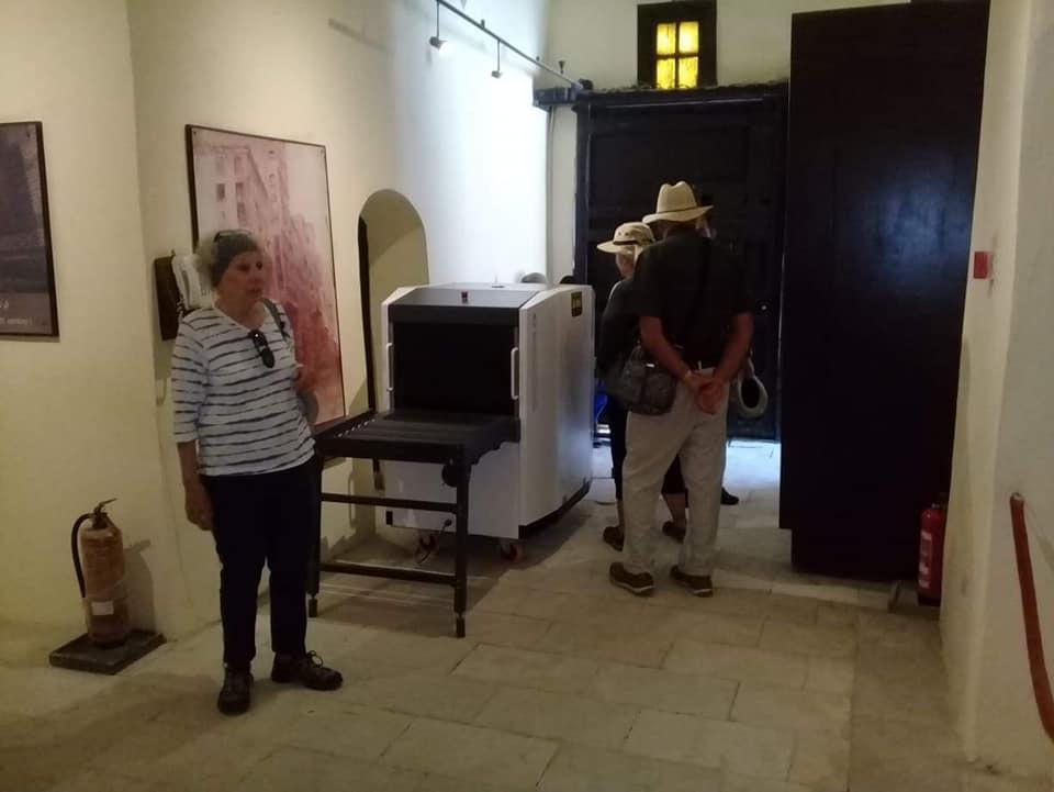 متحف رشيد يستقبل وفود أجنبية (1)