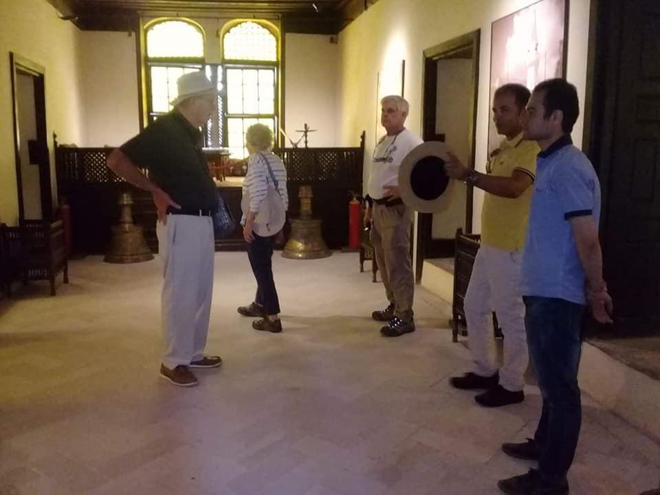 متحف رشيد يستقبل وفود أجنبية (4)