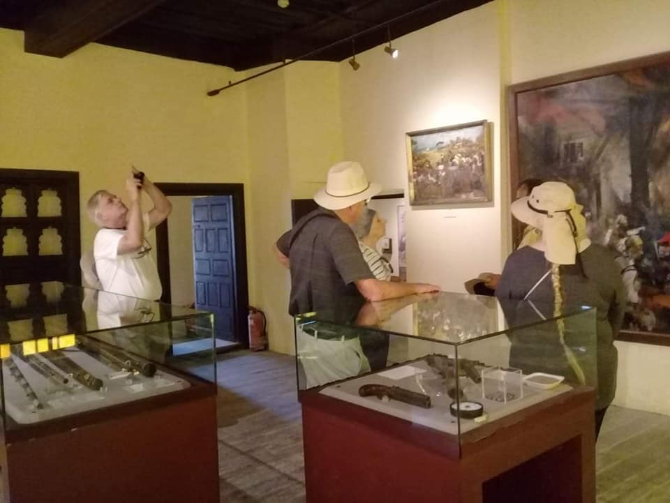 متحف رشيد يستقبل وفود أجنبية (15)