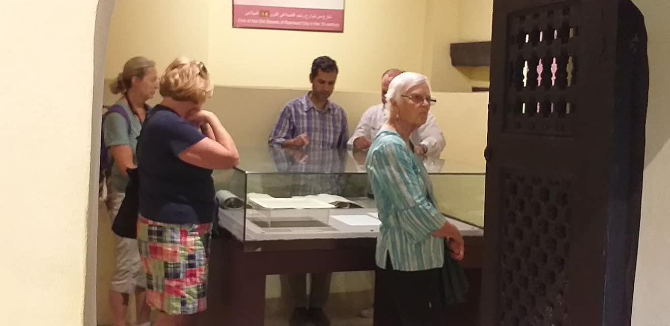 متحف رشيد يستقبل وفود أجنبية (2)