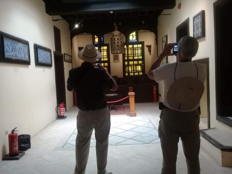 متحف رشيد يستقبل وفود أجنبية (8)