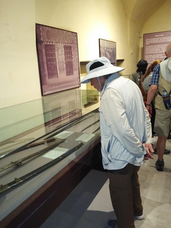 متحف رشيد يستقبل وفود أجنبية (13)