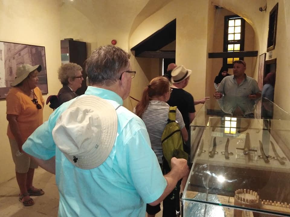 متحف رشيد يستقبل وفود أجنبية (10)