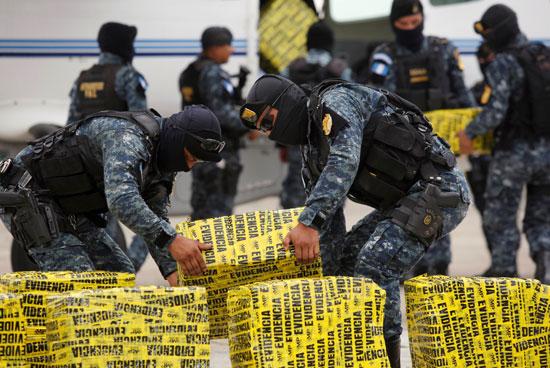 شحنة كوكايين فى جواتيمالا