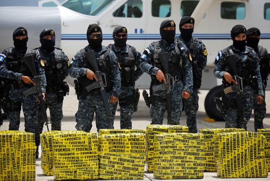 كوكايين مضبوط فى جواتيمالا