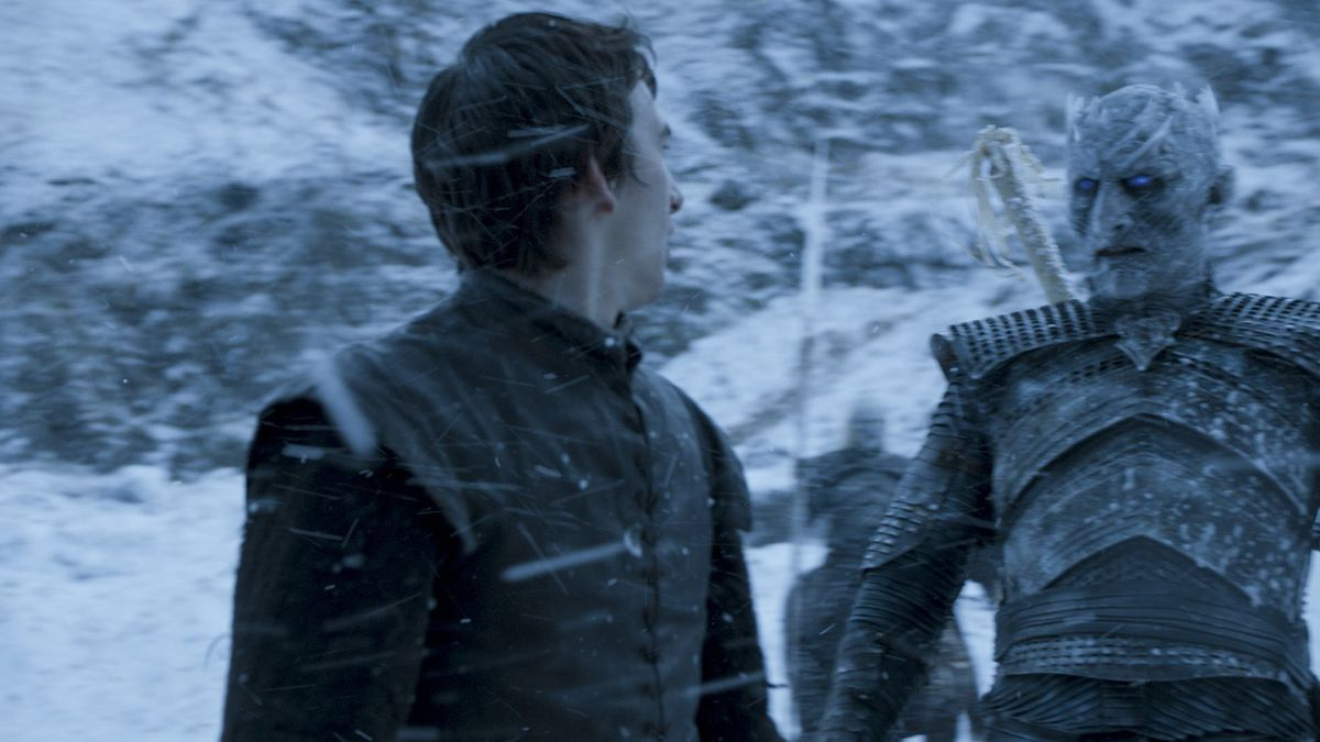 Bran Stark and the night king