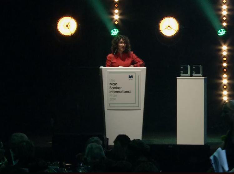 حفل جائزة مان بوكر العالمية 2019 (1)