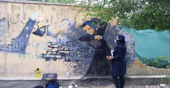 الفنانة شمسية حسانى