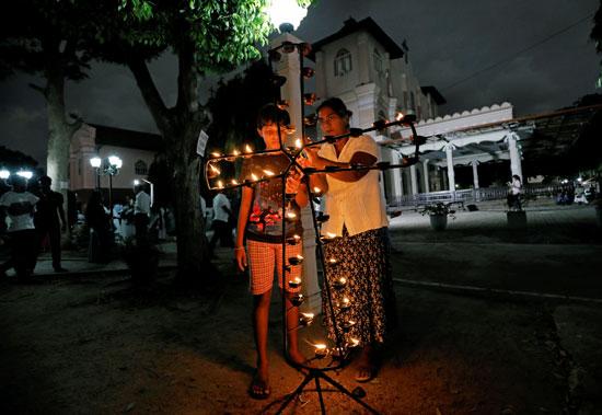 تأبين-ضحايا-عيد-الفصح-فى-سريلانكا