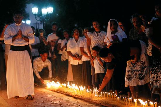 تأبين-ضحايا-التفجيرات-الإرهابية-فى-سريلانكا