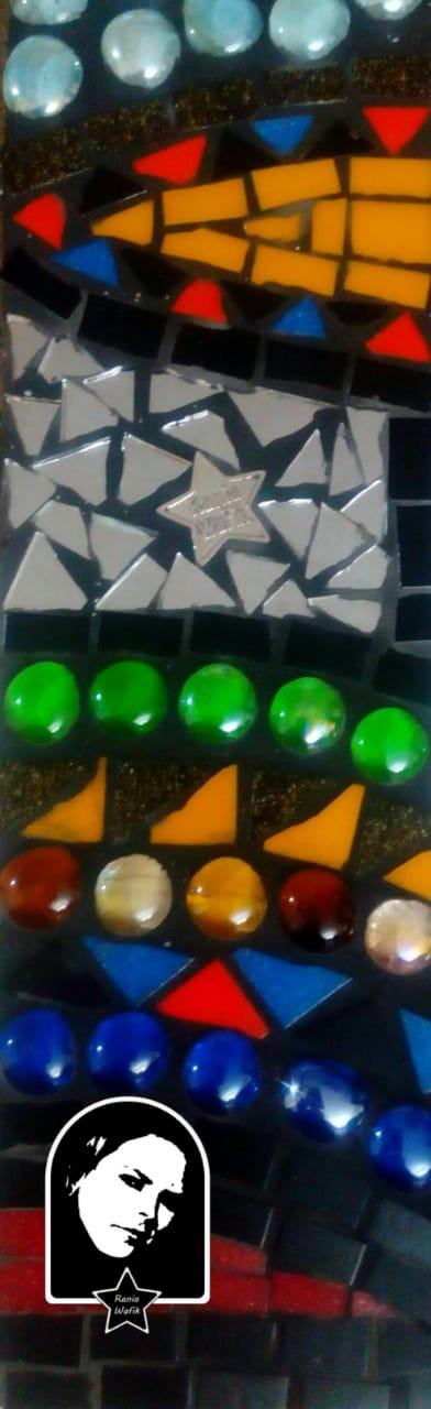 تصنيع المرايات المطعمة بالموزاييك (5)