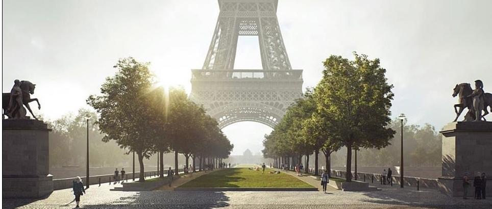 برج إيفل بباريس