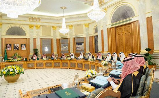 مجلس الوزراء السعودى يناقش الأزمات الأقليمية