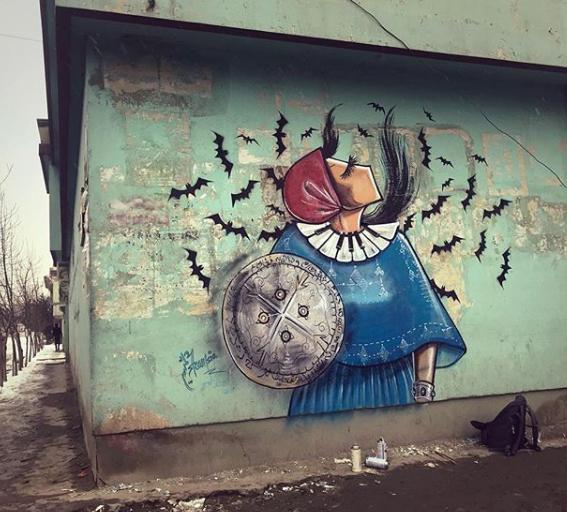 جرافيتى شمسية حسانى
