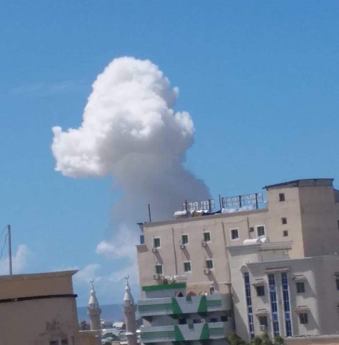 الأدخنة فى سماء العاصمة مقديشيو