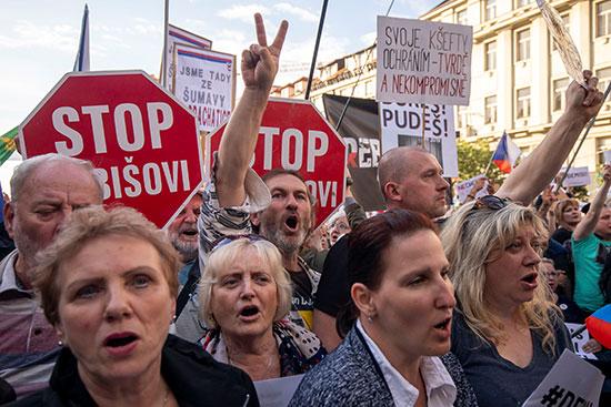 مظاهرات تطالب باستقالة وزيرة العدل التشيكية