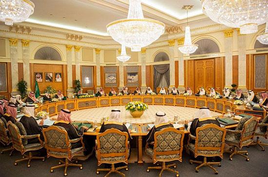 الملك سلمان يترأس مجلس الوزراء السعودى